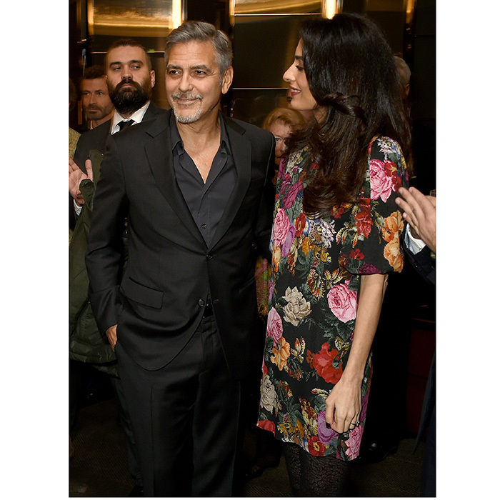 "In June 2017, George's rep announced the arrival of the couple's twins, Alexander and Ella – and while it wasn't exactly in his own words, the statement definitely had the actor's touch. In a statement to HELLO!, the new parents confirmed: ""This morning Amal and George welcomed Ella and Alexander Clooney into their lives. Ella, Alexander and Amal are all healthy, happy and doing fine. George is sedated and should recover in a few days.""