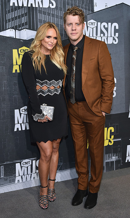 June 7: Miranda Lambert cozied up to her boyfriend Anderson East at the 2017 CMT Music Awards. 