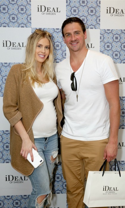 <b>Ryan Lochte and Kayla Rae Reid</b>