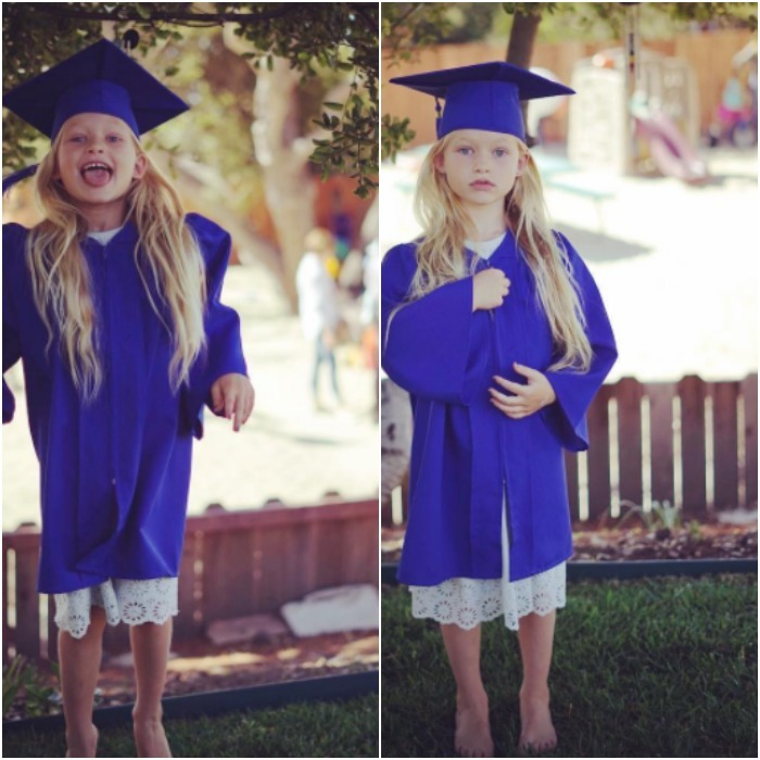 "Jessica Simpson and Eric Johnson's little girl Maxwell celebrated a major milestone. In June 2017, the designer shared a picture of her five-year-old sporting her cap and gown next to the caption, ""Spread your wings and prepare to fly for you have become a butterfly kindergartenherewecome #MAXIDREW.""