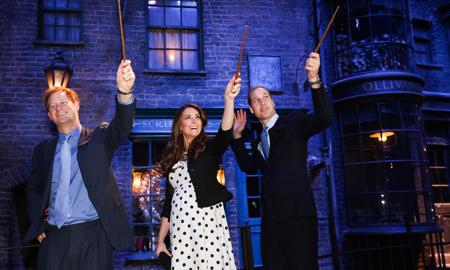 "It seems Prince Harry was right at home when he, Prince William and Kate Middleton visited the set of Diagon Alley in the <i>Harry Potter</i> films during the Inauguration of Warner Bros. Studios Leavesden in 2013. It turns out that the British royal's friends call him ""Potter"" as discovered by Canadian journalist Lisa LaFlamme, Chief Anchor and Senior Editor for CTV National News when she met with him at Kensington Palace. 