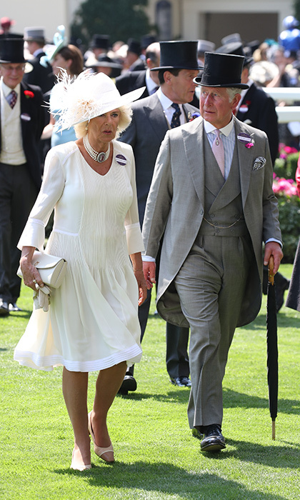 A dapper Prince Charles was joined by wife Camilla, Duchess of Cornwall for day one of the festivities.