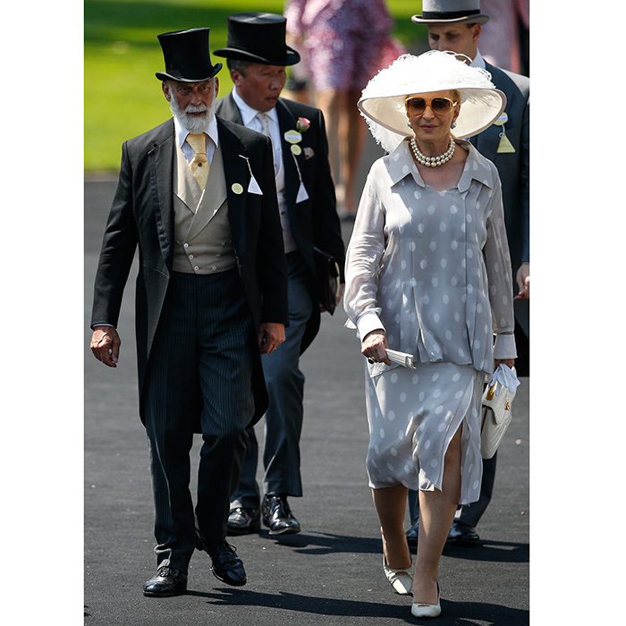 Prince and Princess Michael of Kent, looking elegant as always, also made an appearance. 