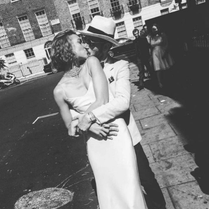 <b>Arizona Muse and Boniface Verney-Carron</B>