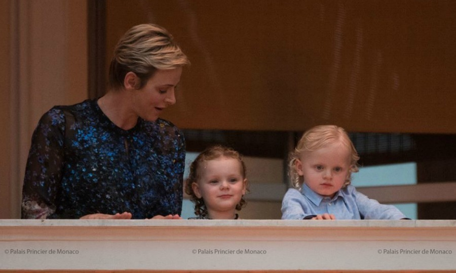 June 2017: On June 23, the twins joined mom Princess Charlene on the balcony of the Royal Palace in Monaco to greet the crowds during the Saint Jean festivities.