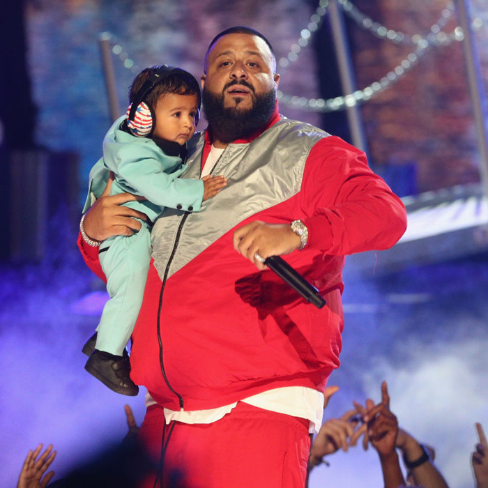 "DJ Khaled not only brought his eight-month-old son Asahd to the BET Awards, he also made an appearance on stage. The <i>I'm the One</i> performer shared about fatherhood to <i>E! News</i>, ""I'm grateful for my biggest blessing. Me and mommy love this boy.""