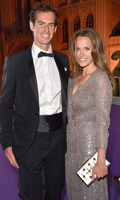 <b>Andy Murray and Kim Sears</b>