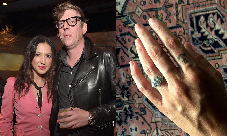 <B>Michelle Branch and Patrick Carney</B>
