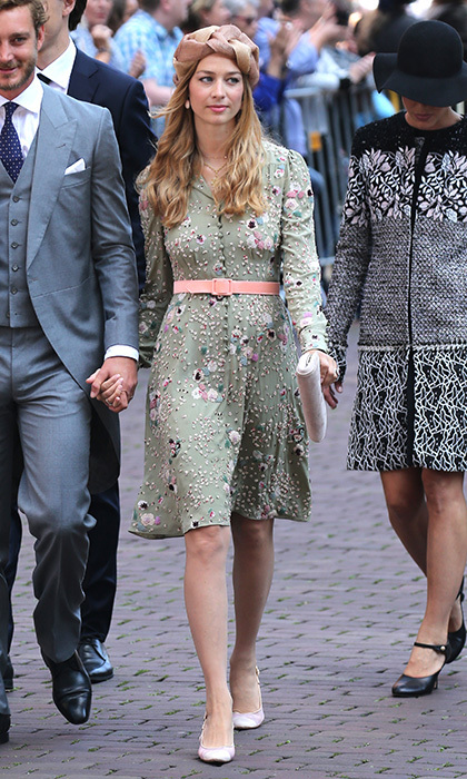 The wedding of Prince Ernst August of Hanover and Ekaterina Malysheva brought the Monaco royals out in style at Hanover Market Church in Germany. 
