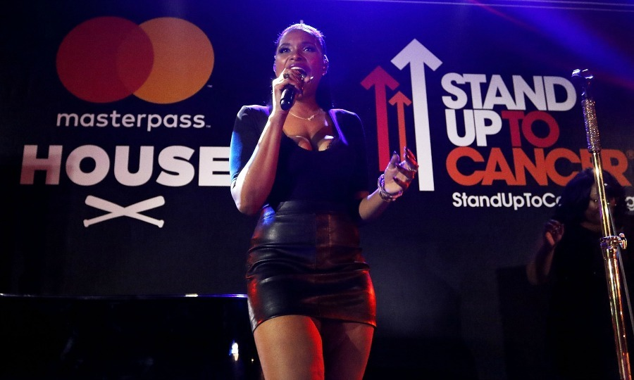 Jennifer Hudson stood under her own spotlight and performed some of her biggest hits during the SUTC concert at Masterpass House in Miami on July 8. 