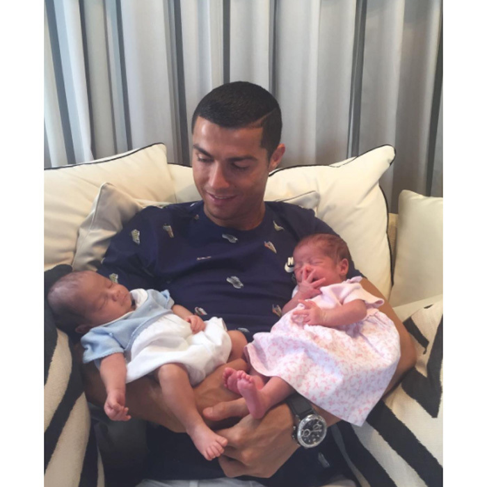 <b>Cristiano Ronaldo and Georgina Rodriguez</b>