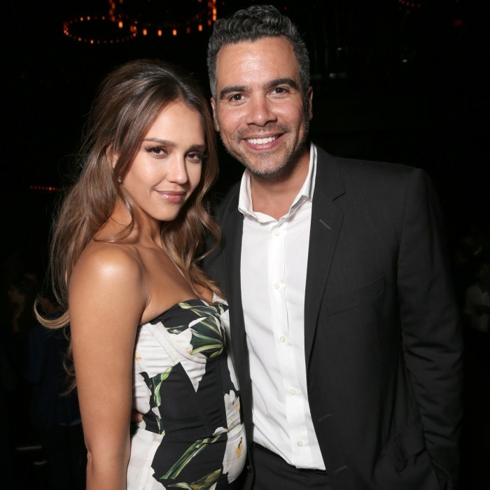 <b>Jessica Alba and Cash Warren</b>