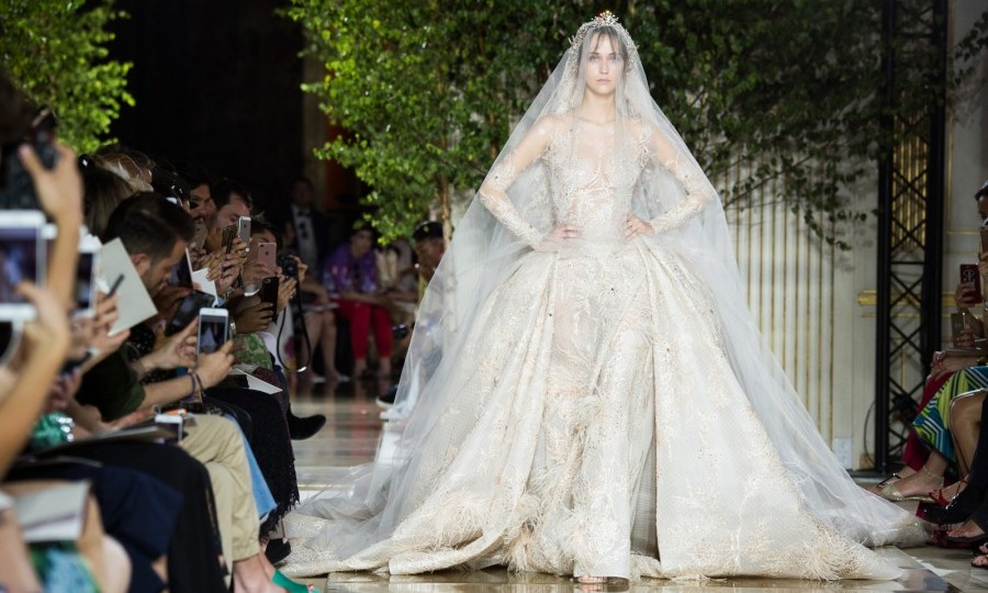 Zuhair Murad is another name known for creating show-stopping, exclusive gowns.  