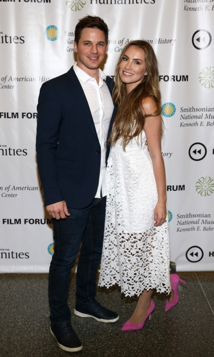 <b>Matt Lanter and wife Angela</b>