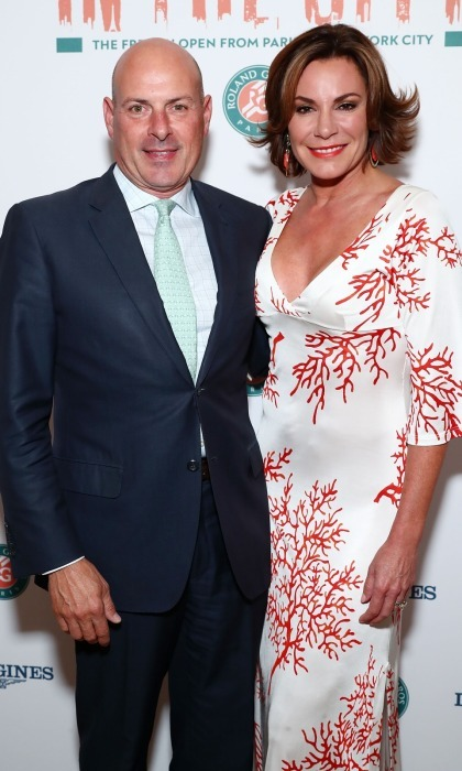 <b>Luann de Lesseps and Tom D'Agostino</b>
