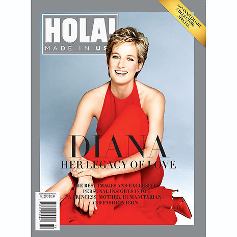 For the best images and exclusive personal insights into Princess Diana, pick up our sister brand HOLA! USA's special 20th anniversary collectors' special, DIANA: HER LEGACY OF LOVE, available on newsstands now.