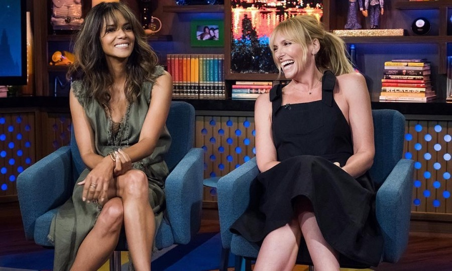 Watch what happens! Halle Berry and Toni Collette had a blast appearing on Bravo's <i>Watch What Happens Live With Andy Cohen</i> on August 3. 