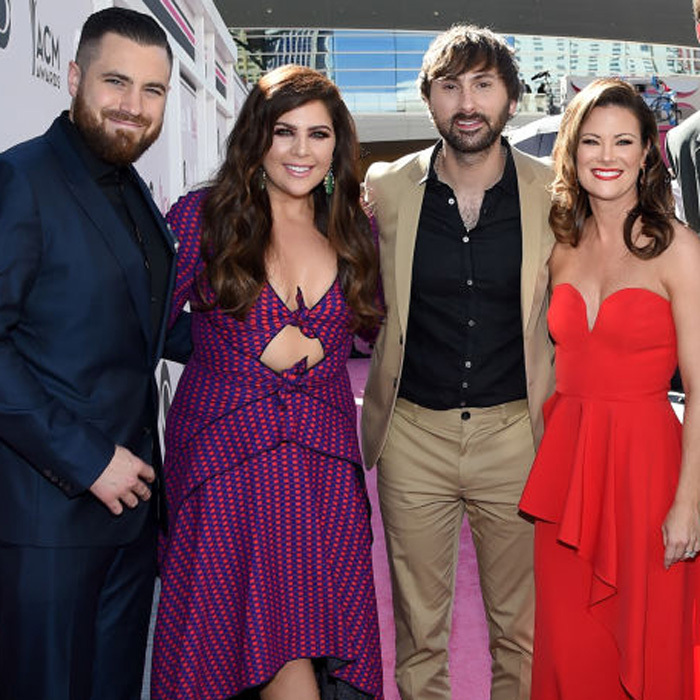 <b>Hillary Scott/Chris Tyrrell and Dave Haywood and Kelli Cashiola</b>