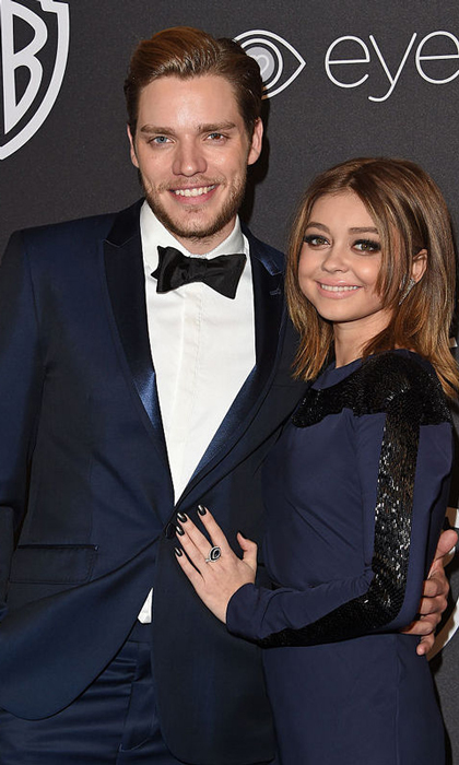 <b>Sarah Hyland and Dominic Sherwood</b>