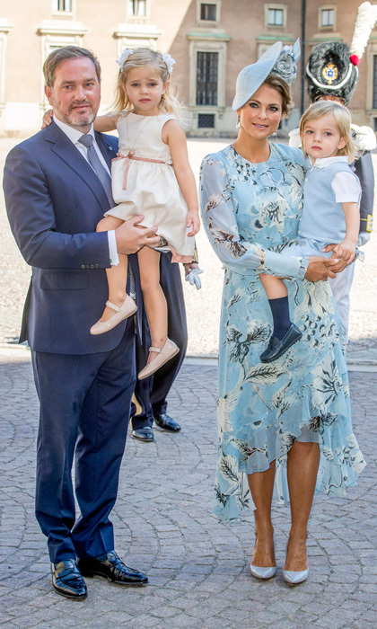Madeleine and Chris are parents to Leonore and Nicolas.