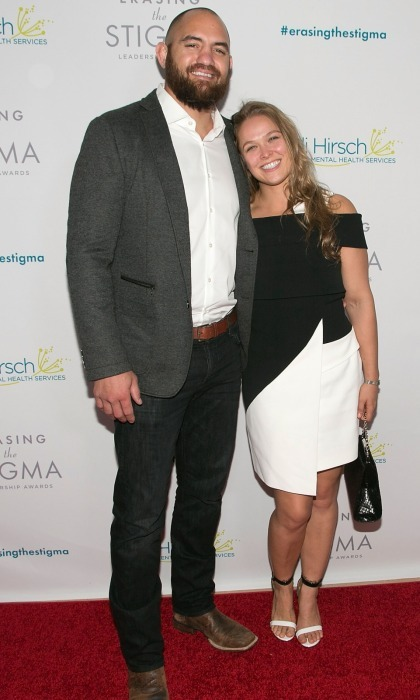 <b>Ronda Rousey and Travis Browne</b>