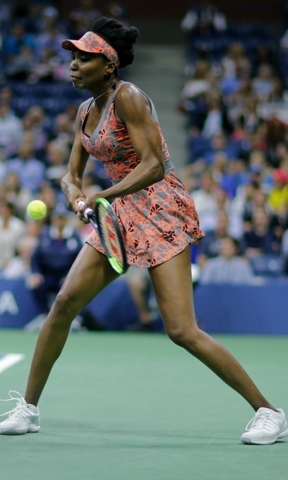 Venus Williams brought home another win after competing against Océane Dodin in the Women's Singles match on August 30.