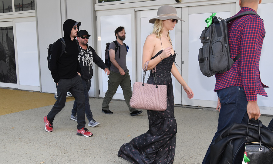 Jennifer Lawrence and boyfriend Darren Aronofsky touched down in Venice on September 2.