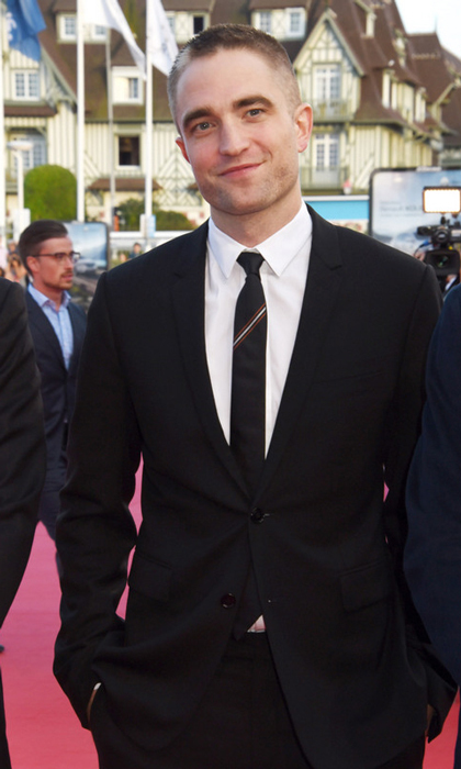 Robert Pattinson showed off his new look during the Deauville American Film Festival where he premiered his movie <i>Good Time</i> in France.