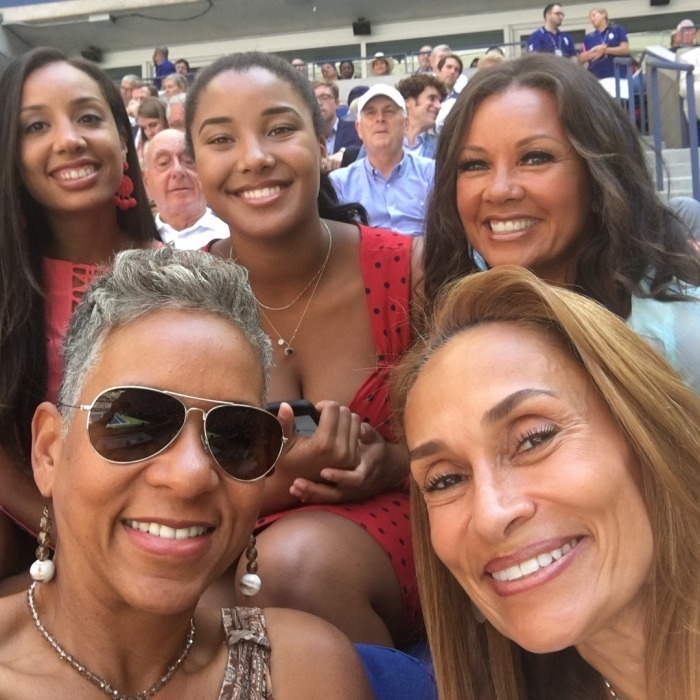 Vanessa Williams had a blast with her loved ones, sharing a series of fun photos from day eight on her Instagram.