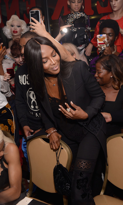Naomi Campbell was front and center during the Pat McGrath LABS Mothership Ball in NYC that kicked off her new unlimited collection launch in NYC.