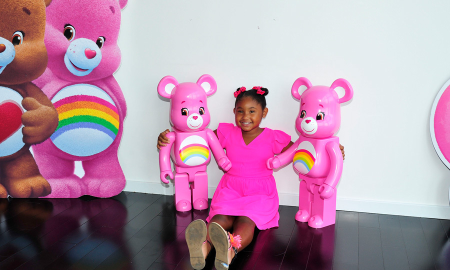 Christina Milian's daughter Violet Madison Nash, 7, had a fun-filled day at Care Bears' #ShareYourCare Day in L.A. ahead of her first day of second grade.