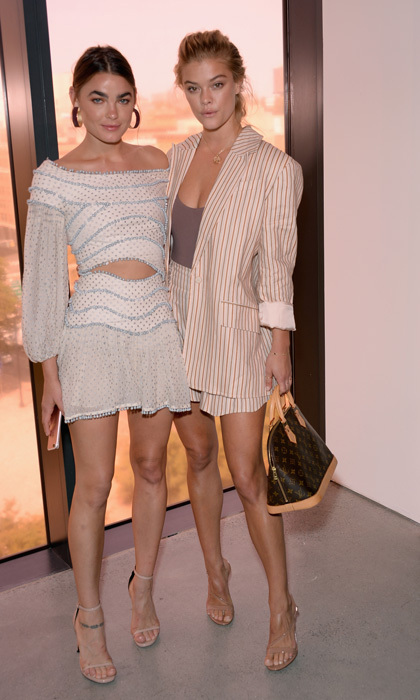 Bambi Northwood-Blyth and Nina Agdal kicked off the week with the Zimmermann fashion show.