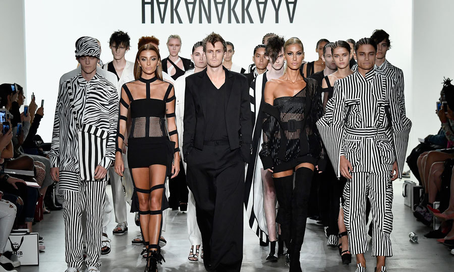 Paris and Nicky Hilton's brother Barron is following in their footsteps and has hit the runway. The 27-year-old made his fashion week debut in the Hakan Akkaya.