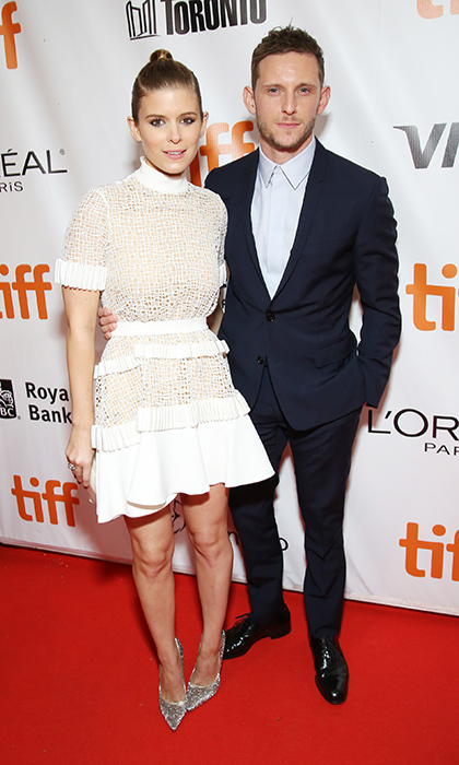 Newlyweds Kate Mara and Jamie Bell were a picture perfect couple on the <I>Film Stars Don't Die in Liverpool</I> red carpet at Roy Thomson Hall.