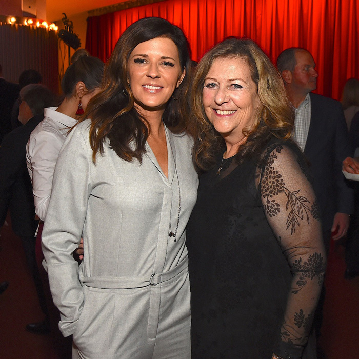 Karen Fairchild attended the opening night of <i>Part of the Plan</i> to support Karen Harris, co-producer/co-writer, at the Tennessee Performing Arts Center in Nashville.