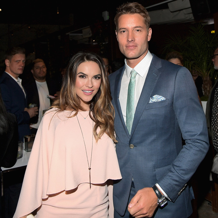 America's favorite twin Justin Hartley and Chrishell Stause were loved up at the Audi pre-Emmy kick off party at the Dream Hollywood's Highlight Room.
