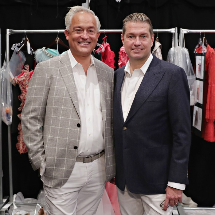 Mark Badgley and James Mischka have been designing together for 29 years.
