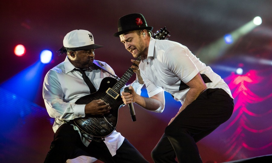 Justin Timberlake rocked his body – and the crowd – during the Rock in Rio festival on September 16 in Rio de Janeiro, Brazil.