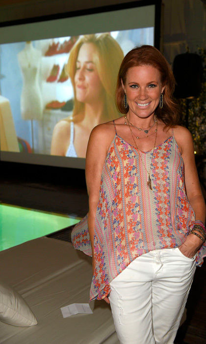 <i>Clueless</i> star Elisa Donovan went down memory lane at the Dive in Theatre screening of the hit film at Skybar at Mondrian Los Angeles on September 18.