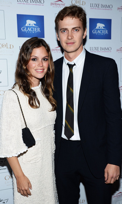 <b>Rachel Bilson and Hayden Christensen</b>