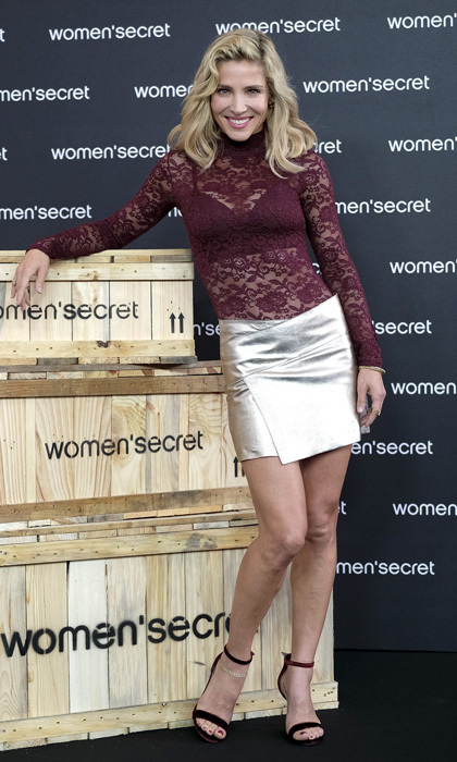 Elsa Pataky was all legs during her Womens' Secret new campaign at Camera Studio on September 20 in Madrid.