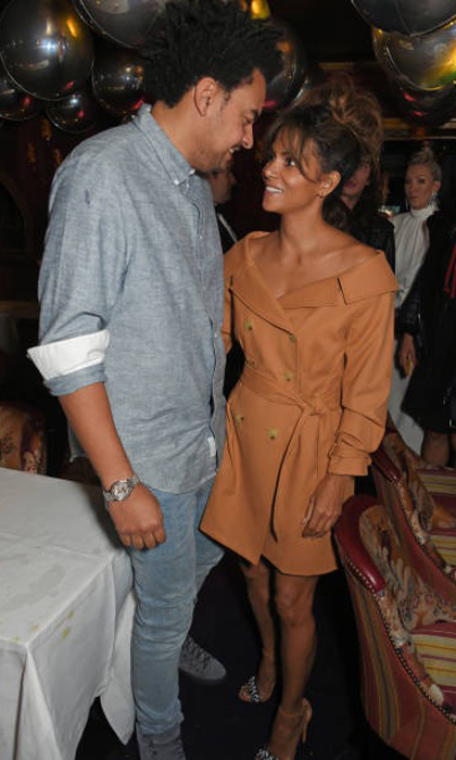 Halle Berry has a new man in her life and she is showing him off to the world. <i>The Kingsman: The Golden Circle</i> actress and British music producer Alex Da Kid stepped out in London during fashion week to attend the  LOVE x Miu Miu party on September 18.