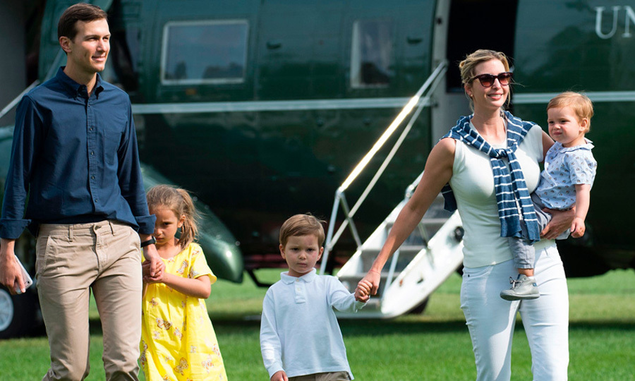Ivanka and her family have gotten used to their life in D.C.