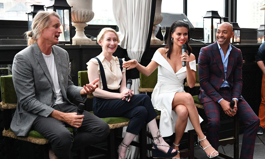 Russell James, Sarah Brown, Adriana Lima, and Sir John hosted a premiere screening for <i>American Beauty Star</i> at the Gramercy Park Hotel in NYC.