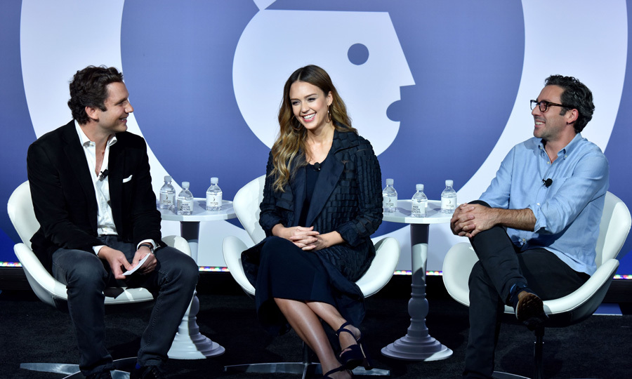 Jessca Alba brought her wisdom for starting The Honest Company along with Neil Blumenthal, co-founder & co-CEO of Warby Parker to Advertising Week. The trio spoke about  what it takes to be a successful entrepreneur and how they got their starts.