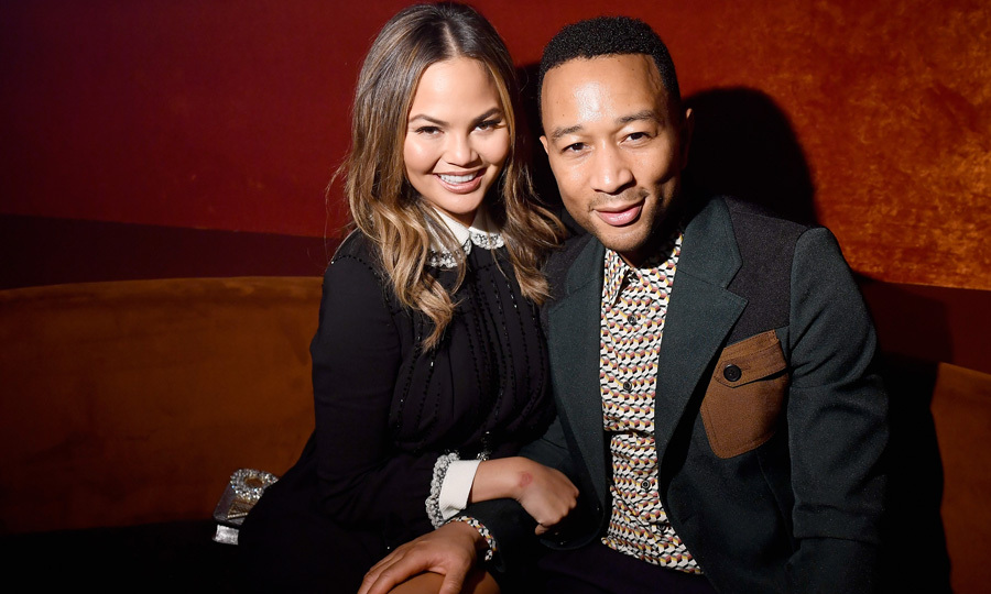 Chrissy Teigen and John Legend made it to Paris better late than never! The model took to Instagram and joked how they arrived on the last day. Luckily, they were able to attend the Miu Miu after-party.
