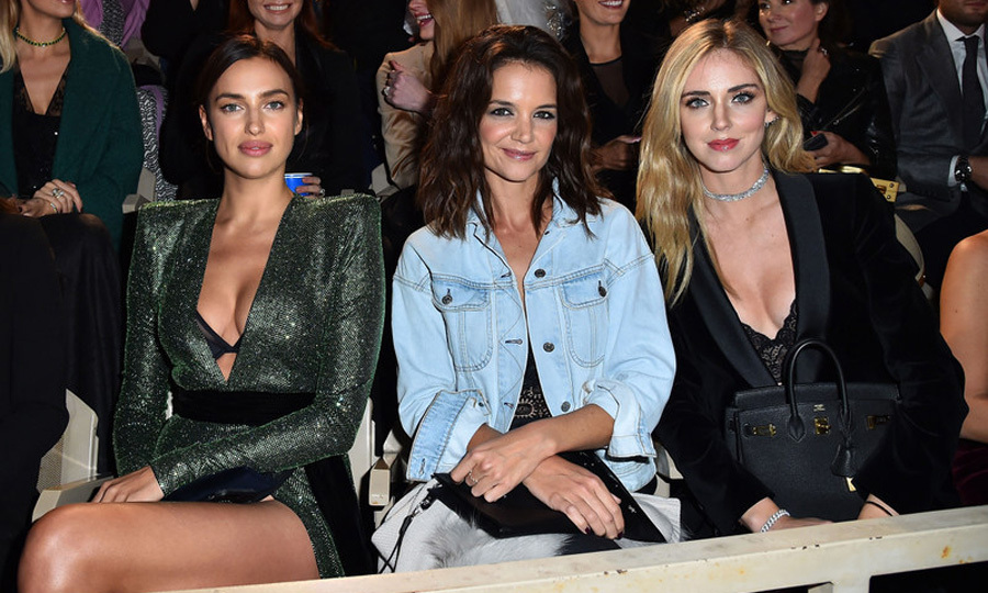 Irina Shayk, Katie Holmes and Chiara Ferragni certainly were living la dolce vita in Verona, Italy. The trio visited the romantic city for the A Legend Of Beauty - Intimissimi on Ice on October 6. The night consisted of ice skaters performing alongside opera singers including Andrea Bocelli. 
