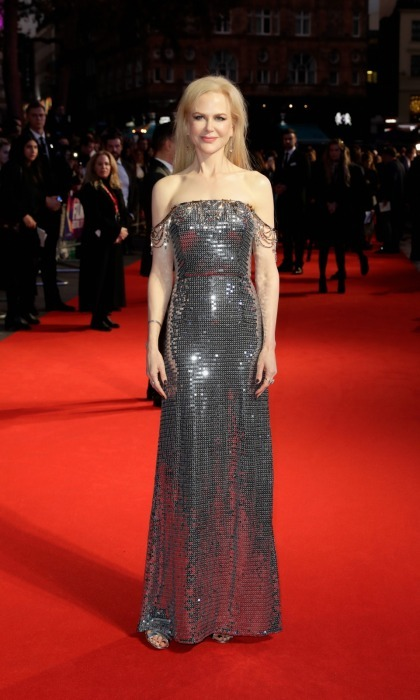 Nicole Kidman looked effortlessly glamorous while at the headline gala screening & UK premiere of her film <i>Killing of a Sacred Deer</i>.