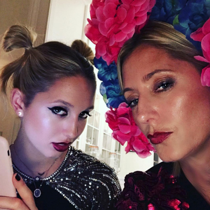 Princess Olympia and Crown Princess Marie-Chantal of Greece made a fashionable mother-daughter duo as they dressed up for an event two days before Halloween in 2016.