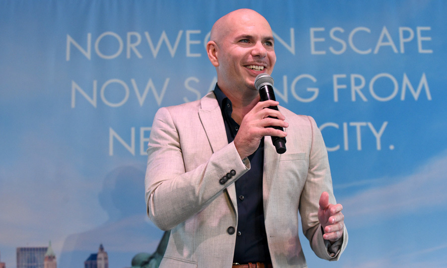 Pitbull AKA Mr. Worldwide attended the Norwegian Escape heads to NYC event at PHD at the Dream Downtown on October 11.